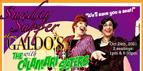 Sunday Supper with The Calamari Sisters tickets