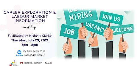 Career Exploration & Labour Market Information Workshop tickets