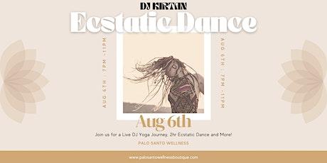 DJ KIRTAN Ecstatic Dance & Yoga Journey tickets