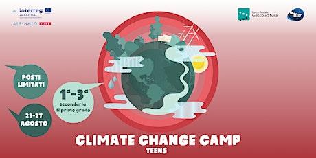CLIMATE CHANGE CAMP TEENS biglietti