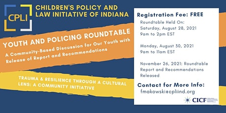 Youth & Policing: Roundtable on Trauma and Resilience for Meaningful Change tickets