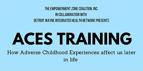 ACES TRAINING How Adverse Childhood Experiences affect us later in life tickets