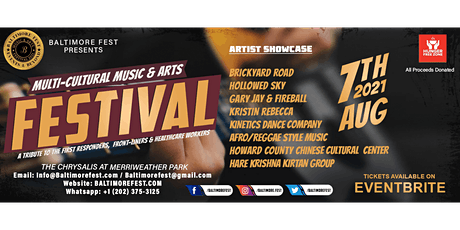 Baltimore Fest Music & Arts Festival - A Tribute to First Responders.... tickets