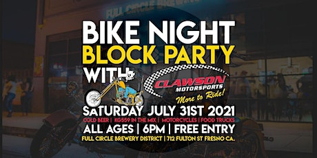 Bike Night Block Party with Clawson Motor Sports tickets