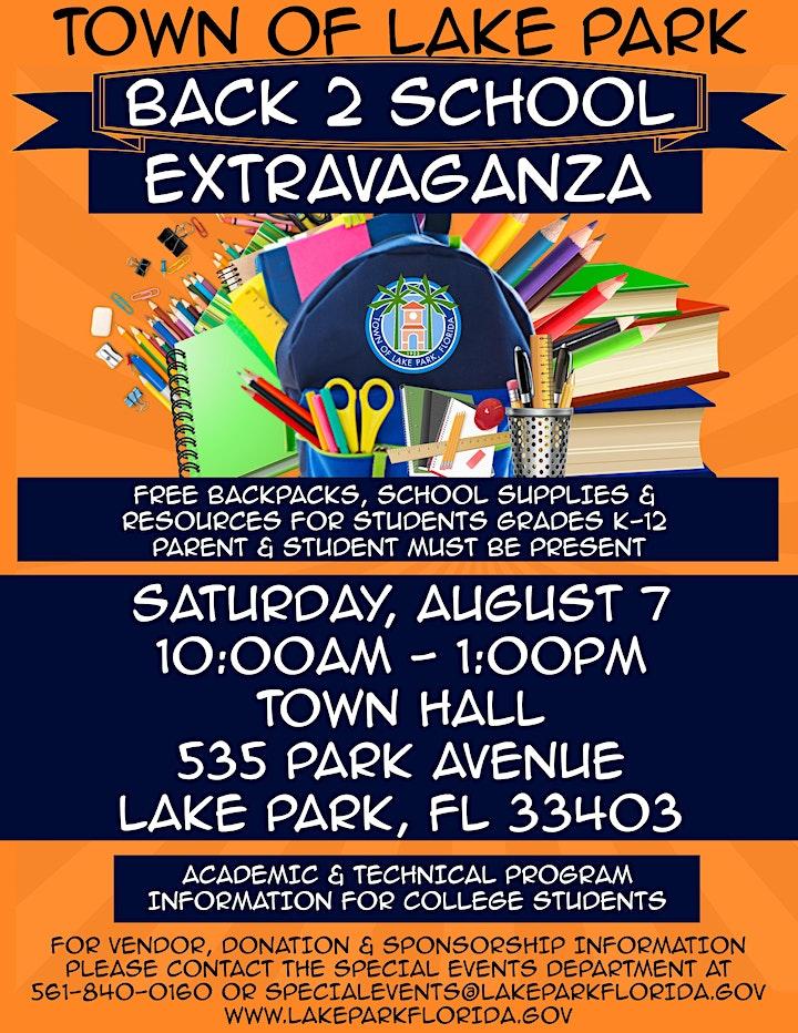 Back 2 School Extravaganza image