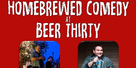 Homebrewed Comedy at Beer Thirty tickets