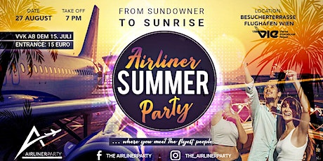 Airliner Summer Party Tickets