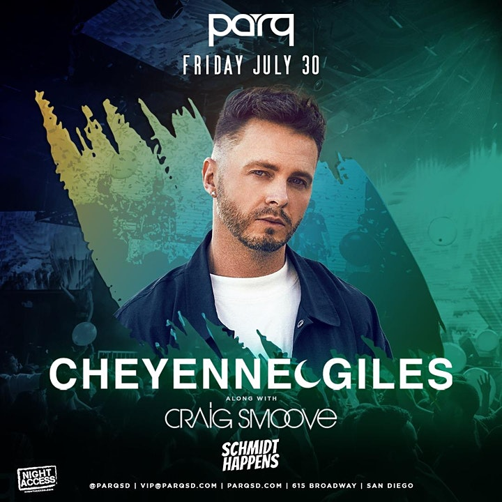 Night Access presents Cheyenne Giles w/Craig Smoove + Schmidt Happens @Parq image