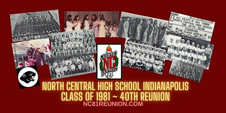 """NCHS Class of 1981 40th Reunion - """"Reunion on the River"""" tickets"""
