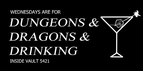 Triple D Night - Dungeons & Dragons & Drinking tickets