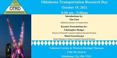2021 Oklahoma Transportation Research Day tickets
