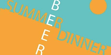 Summer Beer Dinner tickets