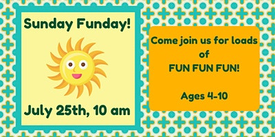 Sunday Funday! Painting + Crafts (Ages 4-10)