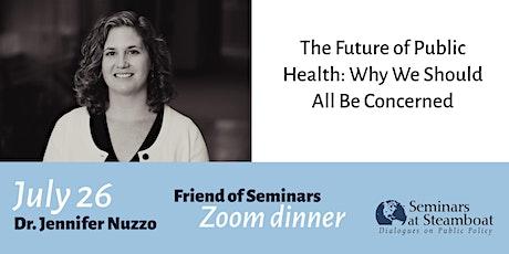 Jennifer Nuzzo Zoom dinner tickets