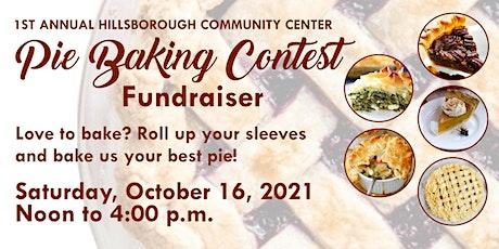1st Annual Pie Baking Contest tickets