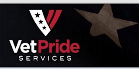 Vet Pride Services Virtual Employment Event tickets