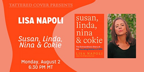 Live Stream with Lisa Napoli tickets