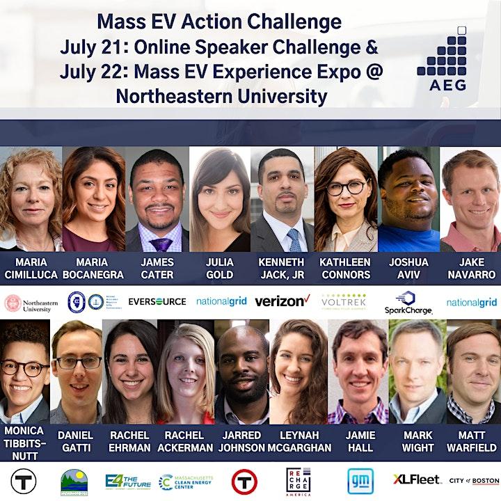 AEG Mass EV Action Challenge: Online Speaker Challenge + EV Experience Expo image