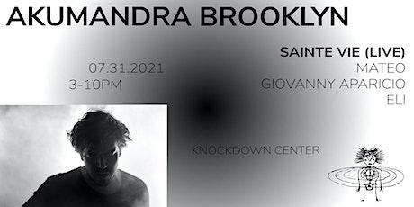 Akumandra - Brooklyn tickets