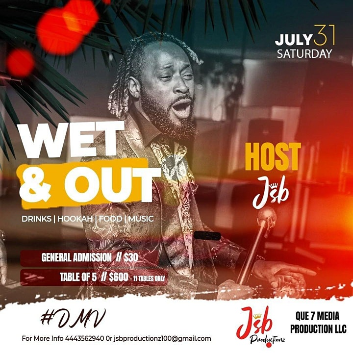 WET N OUT PRIVATE POOL PARTY image