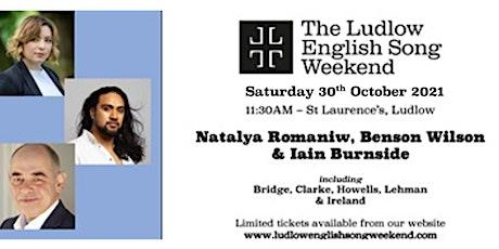 LESW21 - Morning Recital with Natalya Romaniw & Benson Wilson tickets