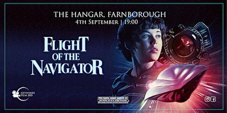 Anywhere Film @  The Hangar | Flight of the Navigator tickets