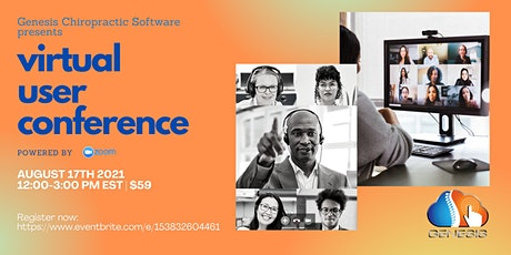 Genesis 2021 Virtual User Conference tickets