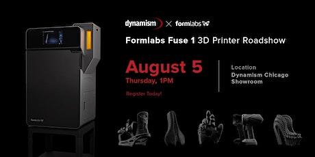 Dynamism x Formlabs: Fuse 1 3D printer roadshow! tickets