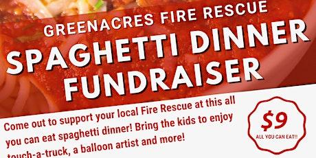 Greenacres Fire Rescue Spaghetti Dinner tickets