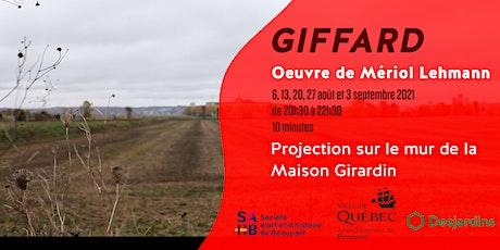 Projection sur la Maison Girardin - Giffard billets