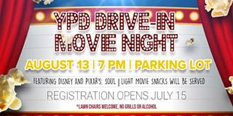 YPD Drive-In Movie Night tickets