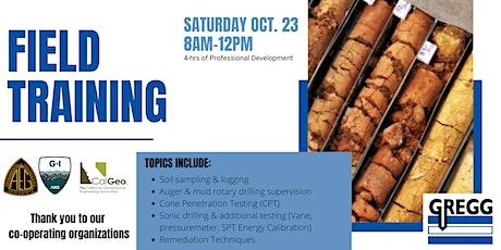 Gregg Drilling Field Training tickets