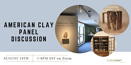 American Clay Panel Discussion and Reception tickets