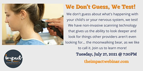 We Don't Guess, We Test! tickets