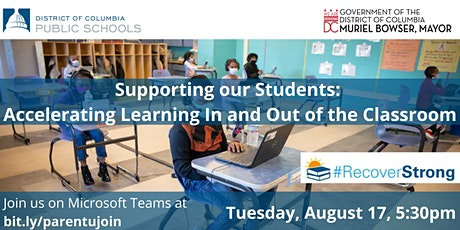Parent University: Accelerating Learning In and Out of the Classroom tickets
