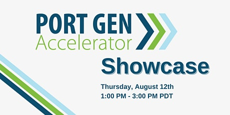 PortGen Accelerator Showcase tickets
