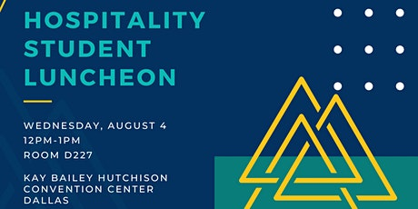 AAHOA  Convention 2021 Student Luncheon tickets