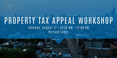 Property Tax Appeal Workshop tickets