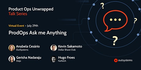 ProdOps Ask me Anything tickets