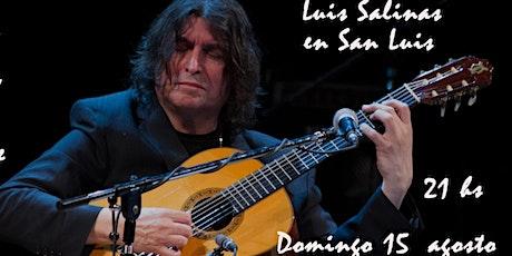 Luis Salinas entradas