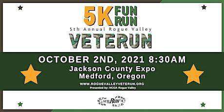 Rogue Valley VeteRUN 5k 2021 tickets