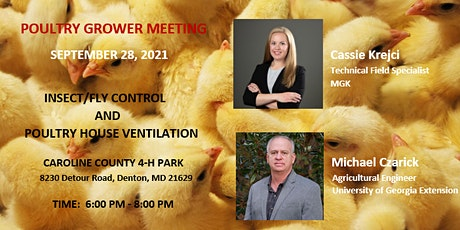 Poultry Growers Meeting - Insect/Fly Control & Poultry House Ventilation tickets