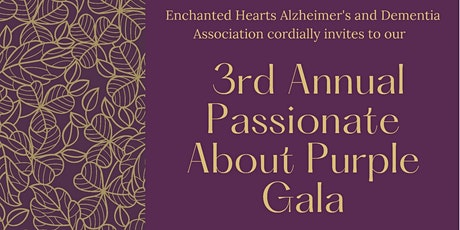 3rd Annual Passionate About Purple Gala tickets