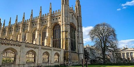 OPEN CAMBRIDGE 2021: HISTORIC CAMBRIDGE WALKING TOUR tickets