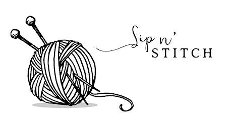 Sip n' Stitch tickets