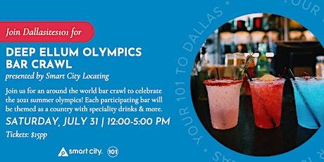 Olympics Bar Crawl in Deep Ellum tickets