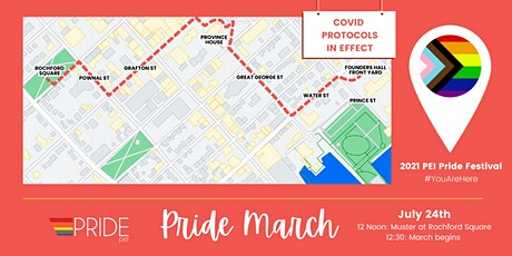Pride March tickets
