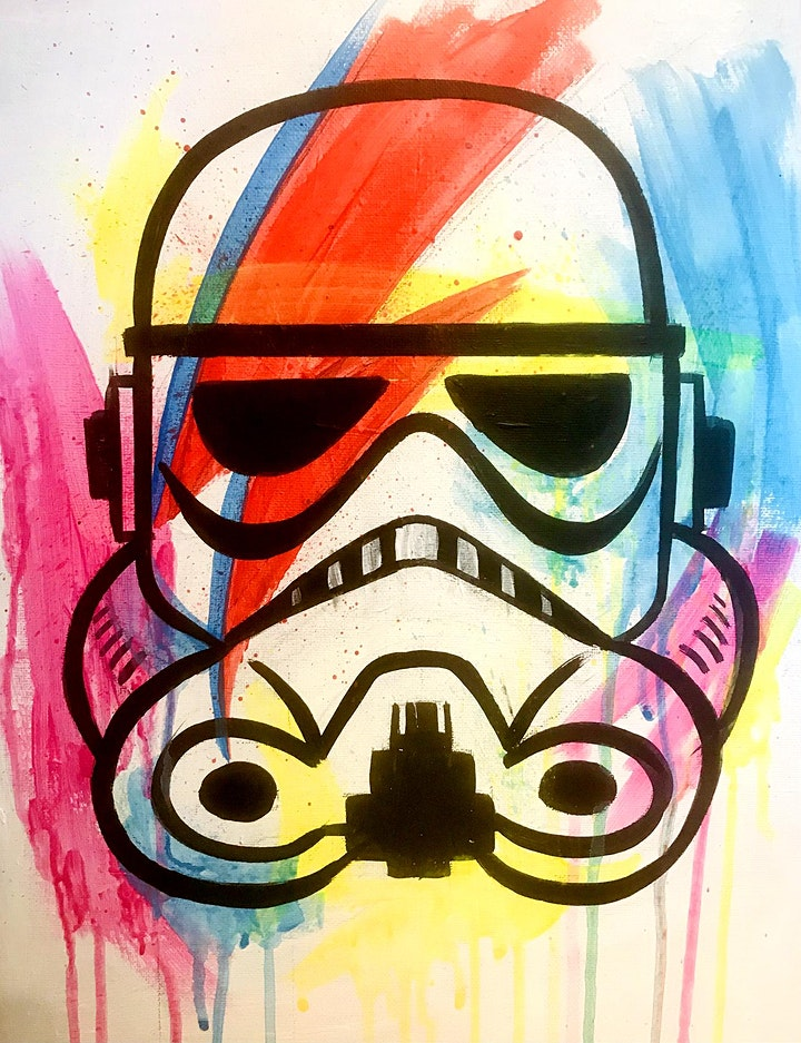 FREE - Easely Does It  - There's A Starwars Man- with Toni image