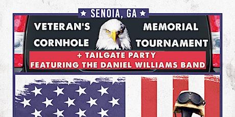 2021 Veteran's Memorial Cornhole Tournament + Tailgate Party tickets