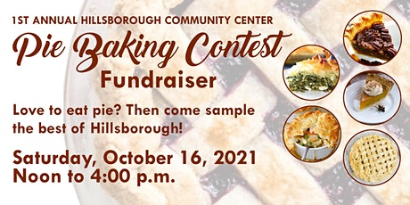 Admission Ticket to 1st Annual Pie Baking Contest tickets
